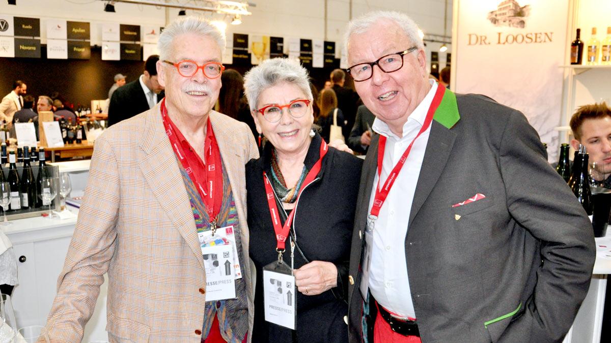 Bernd Neuner-Duttenhofer & Martina Meuth, Gourmino-Express Autor Wolfgang Ritter. (v.li.).