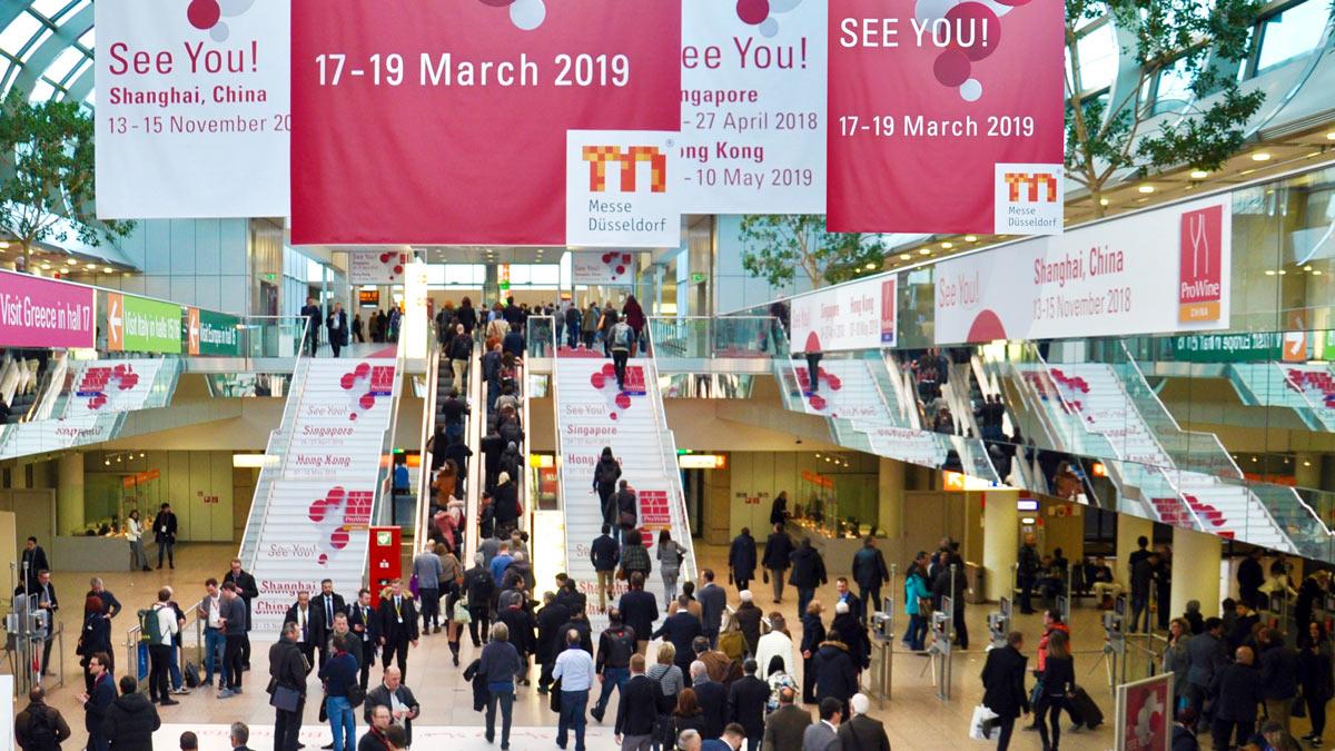 Was bringt die Prowein 2019 in Düsseldorf?