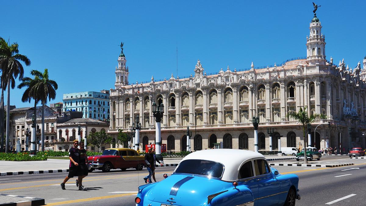 Gran Teatro de La Habana, die Oper von Havanna