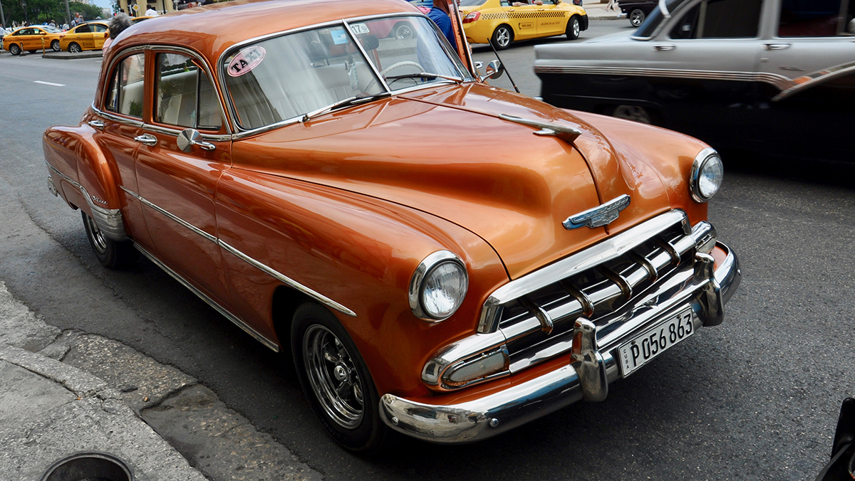 Top Zustand: 1952 Chevrolet Deluxe Sedan 4 Doors