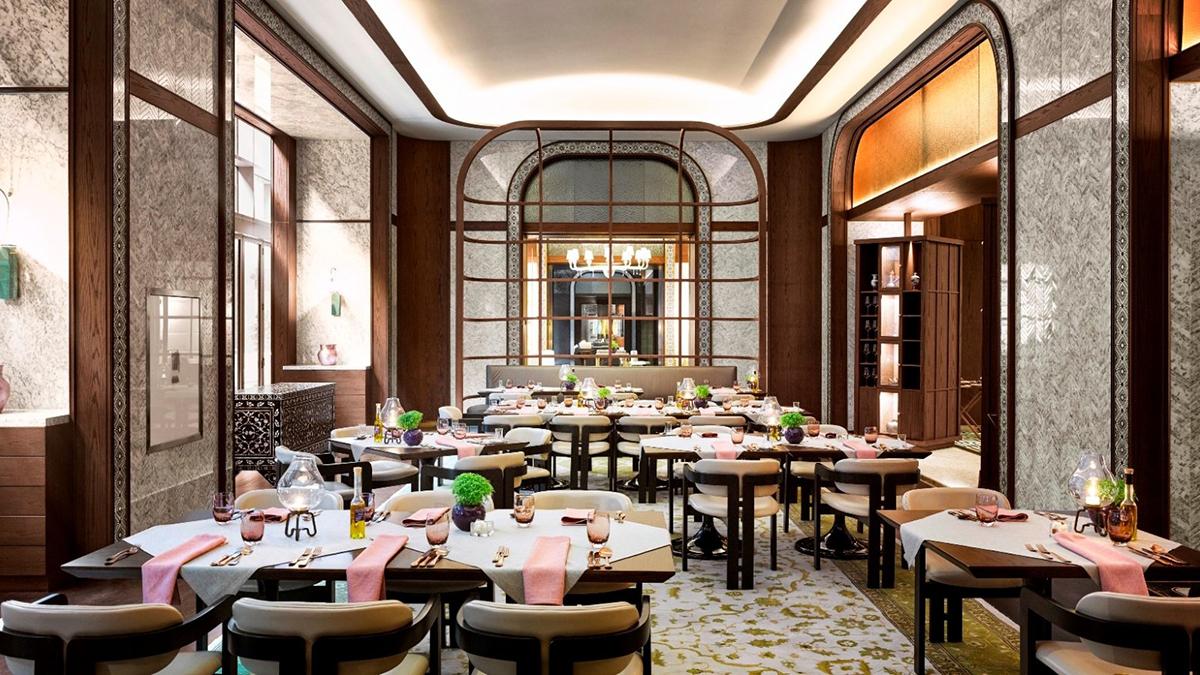 Das Restaurant AILA im Hotel Fairmont, Nummer Eins in Istanbul. Foto Hotel
