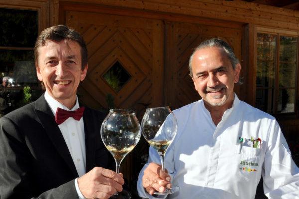 Wer in Südtirol gut essen will, kommt an ihnen nicht vorbei: Siegi und Karl Baumgartner. Foto WR