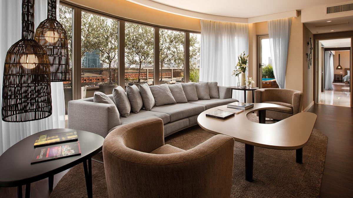 Das stylische Hotel Madero