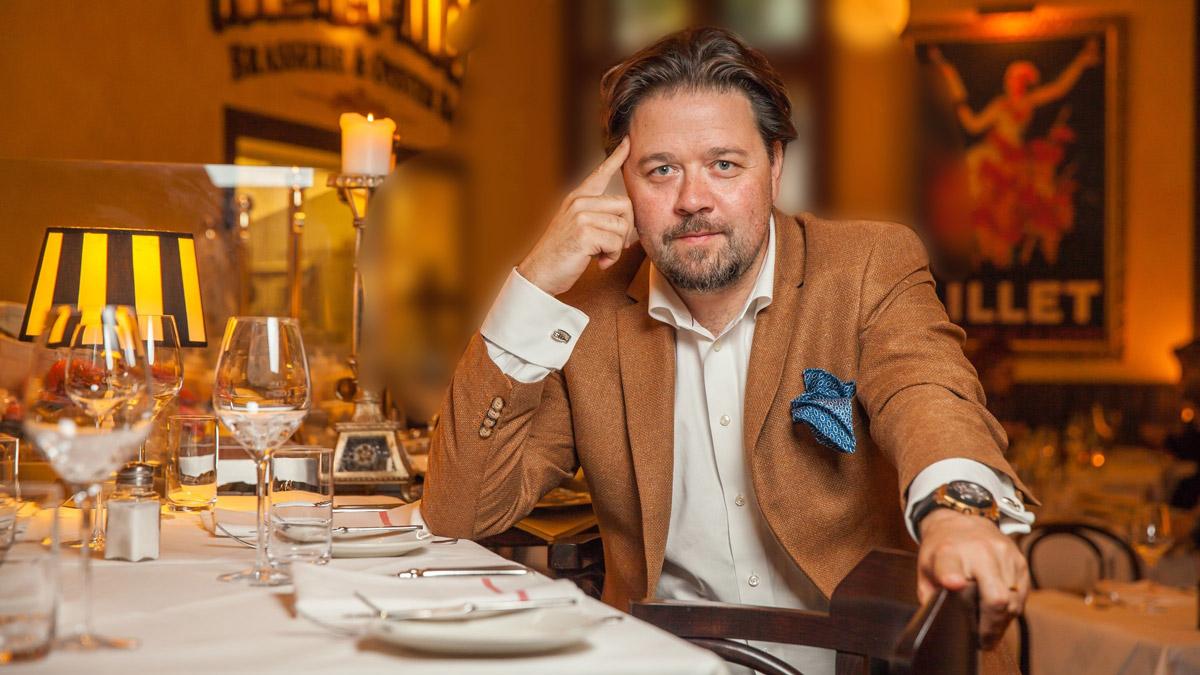 Mon Ami Maxi: Christian Mook – Grand Seigneur der Frankfurter Restaurant Szene. Foto Mook.