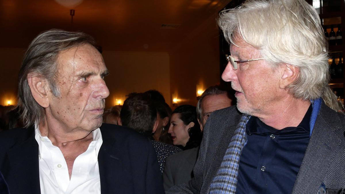 Franz-Joseph Wagner und Helmut von Finck. Foto xxamaxx