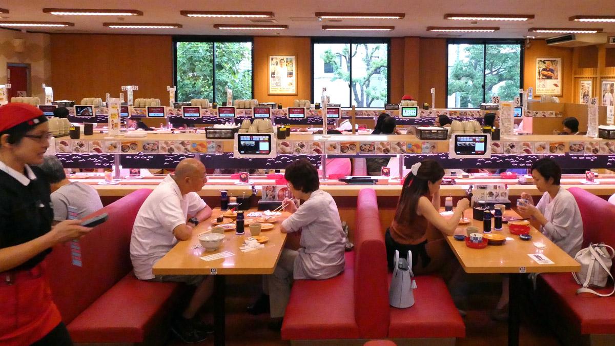 Sushi Rollband Restaurant. Foto IH
