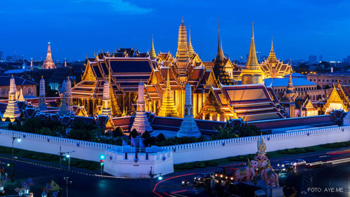 Der Königspalast: am besten mit dem Expressboot zu erreichen. Foto Thailand Tourism