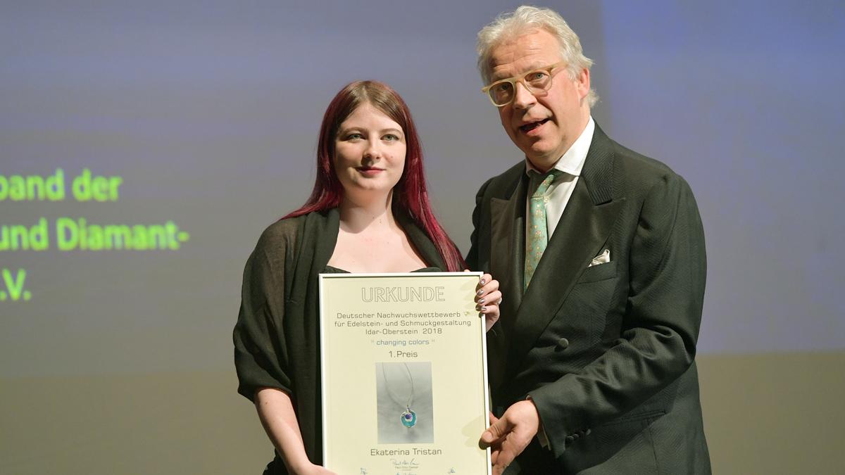 Ekaterina Tristan gewann den Nachwuchswettbewerb. Foto Hannes Magerstaedt