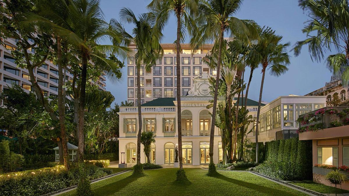Der Hotel-Klassiker in Bangkok: Das Mandarin Oriental am Chao Phraya