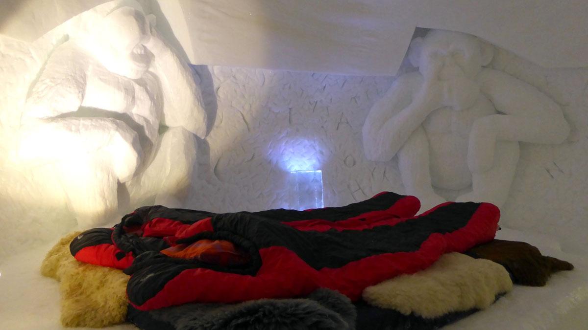 Jedes Zimmer ist kunstvoll verziert. Foto IH