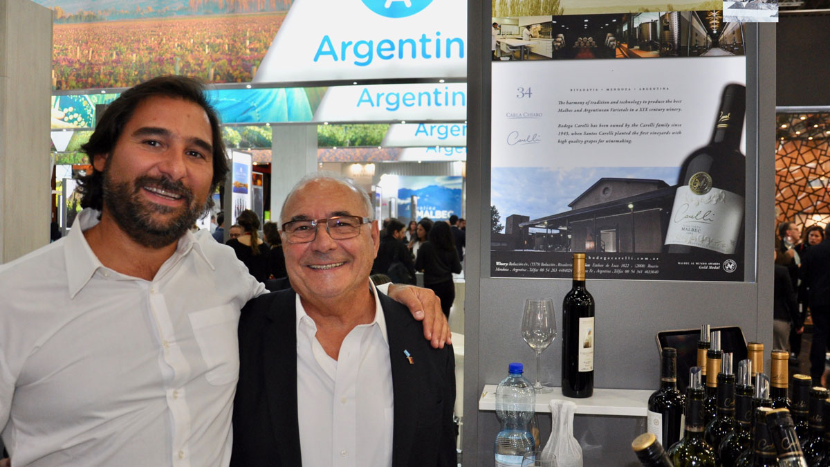 Erfolgreiches Duo: José und Lucas Carelli, Rivadavia/Mendoza, Argentinien. Foto WR