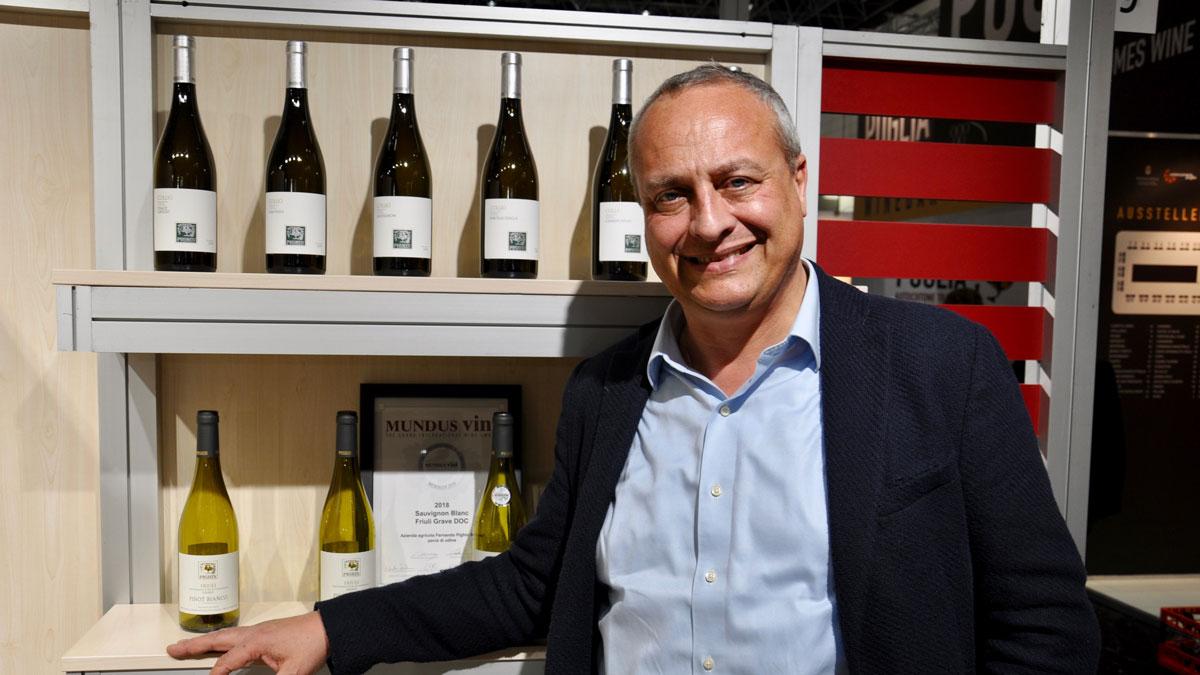 Fernando Pighin, Friaul: Er produziert hervorragende Pinot Grigio. Foto wr