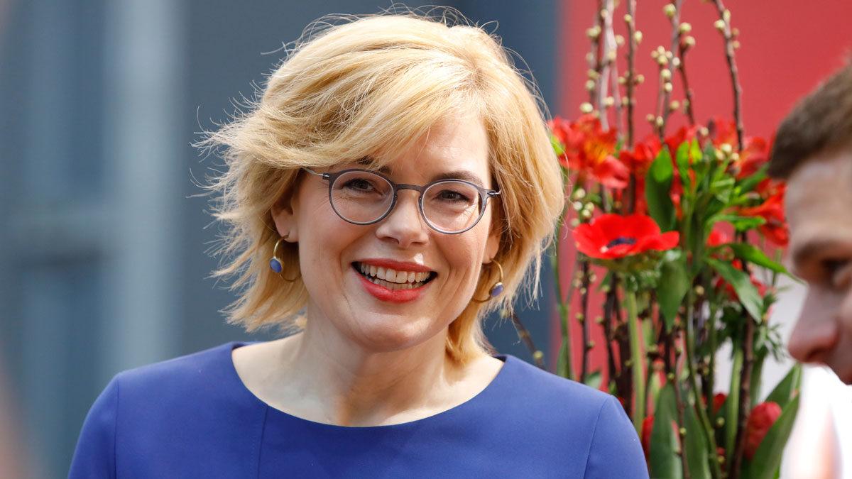 Bundesagrarministerin Julia Klöckner eröffnete die 25. ProWein Messe in Düsseldorf. Foto Messe Dssdf Constanze Tillmann
