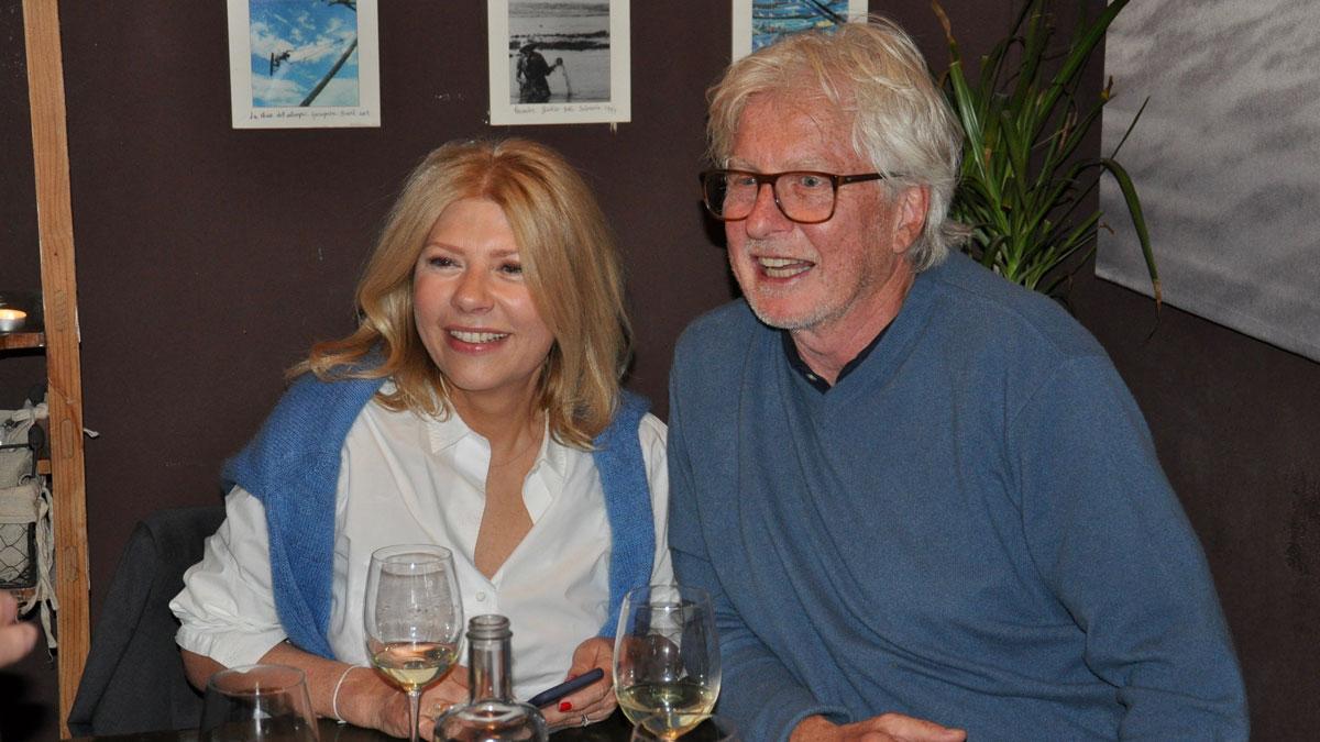 The Duke: Helmut von Finck und seine Verlobte Kerstin feiern mit Freunden in den Geburtstag. Foto WR