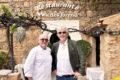 Gastgeber par excellente: Patron Peter Himbert und Jubilar Helmut von Finck. Foto WR