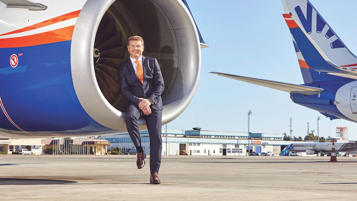 Geschäftsführer SunExpress Jens Bischof. Foto Sun Express