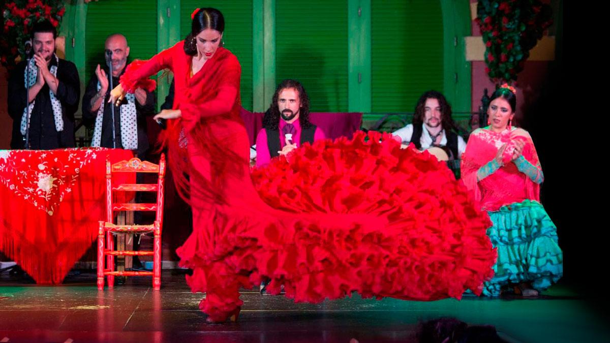 Flamenco im Triana Viertel: El Palacio Andaluz (ab 44 Euro).    Foto Get Your Guide