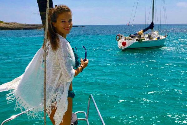 Menorca = Wunderschöne Buchten. Foto Inna Hemme