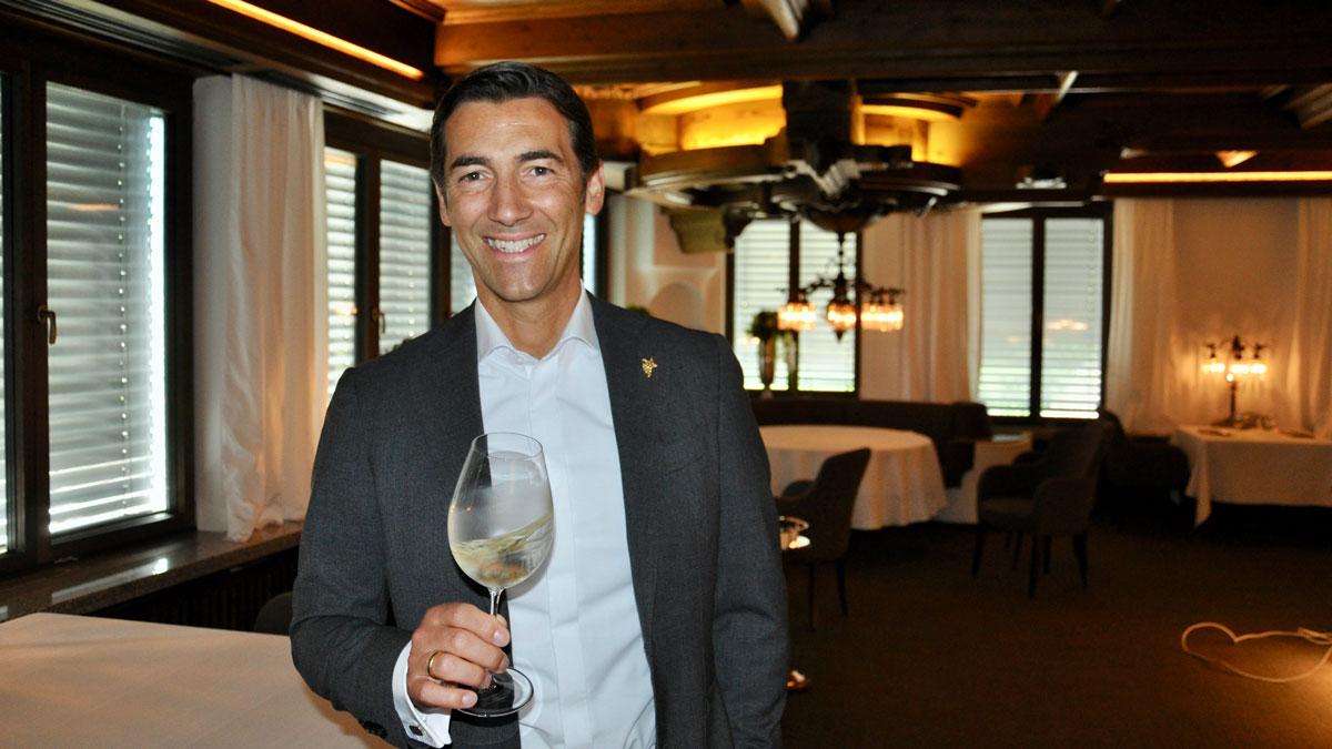 Stéphane Gass. Für Gourmino Express der beste Sommelier in Deutschland. Foto WR