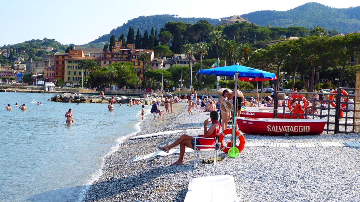 Santa Margherita Ligure. Foto Inna Hemme