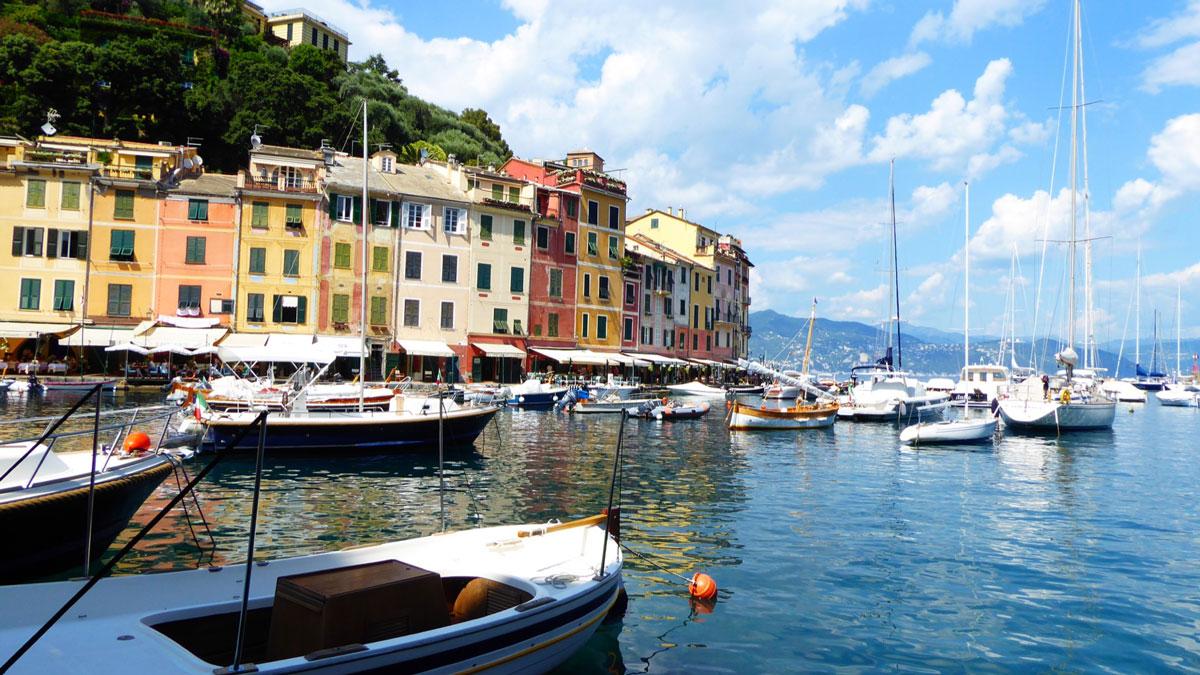 Piazzetta - Portofino. Foto Inna Hemme