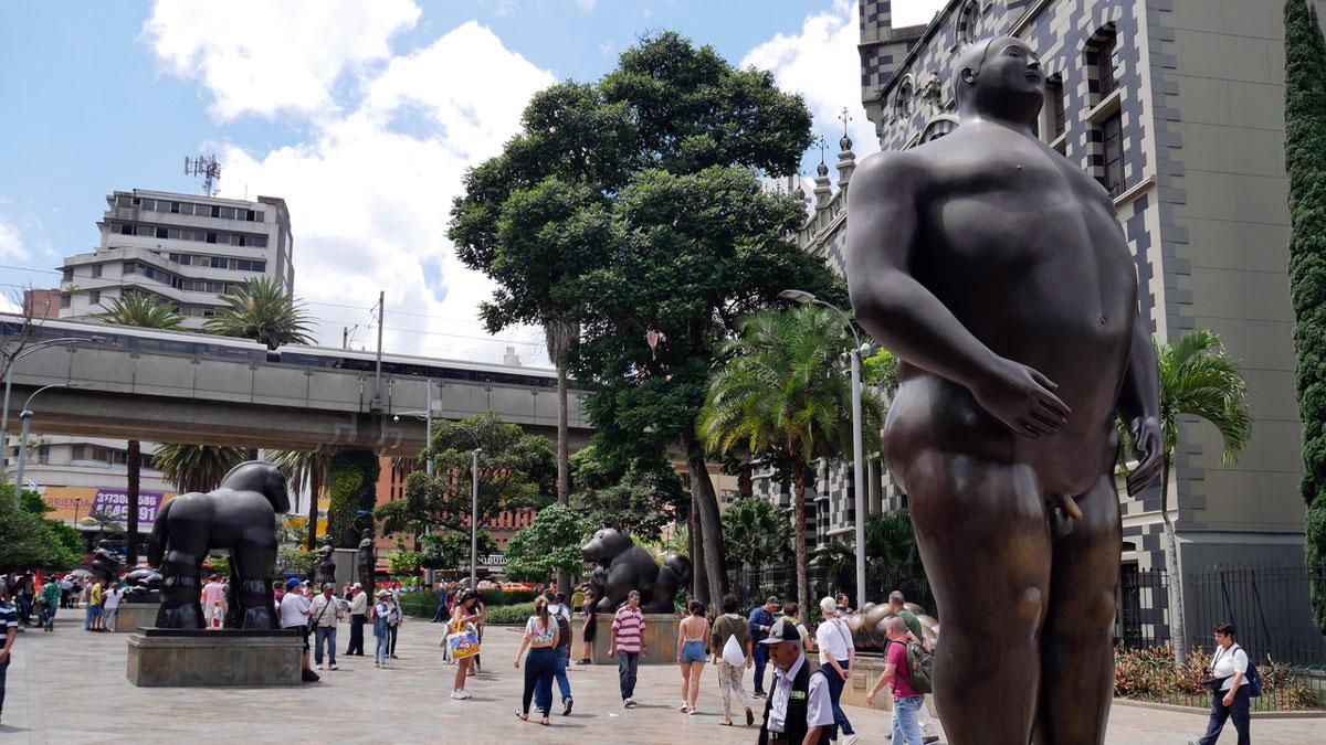 Skulpturen von Fernando Botero