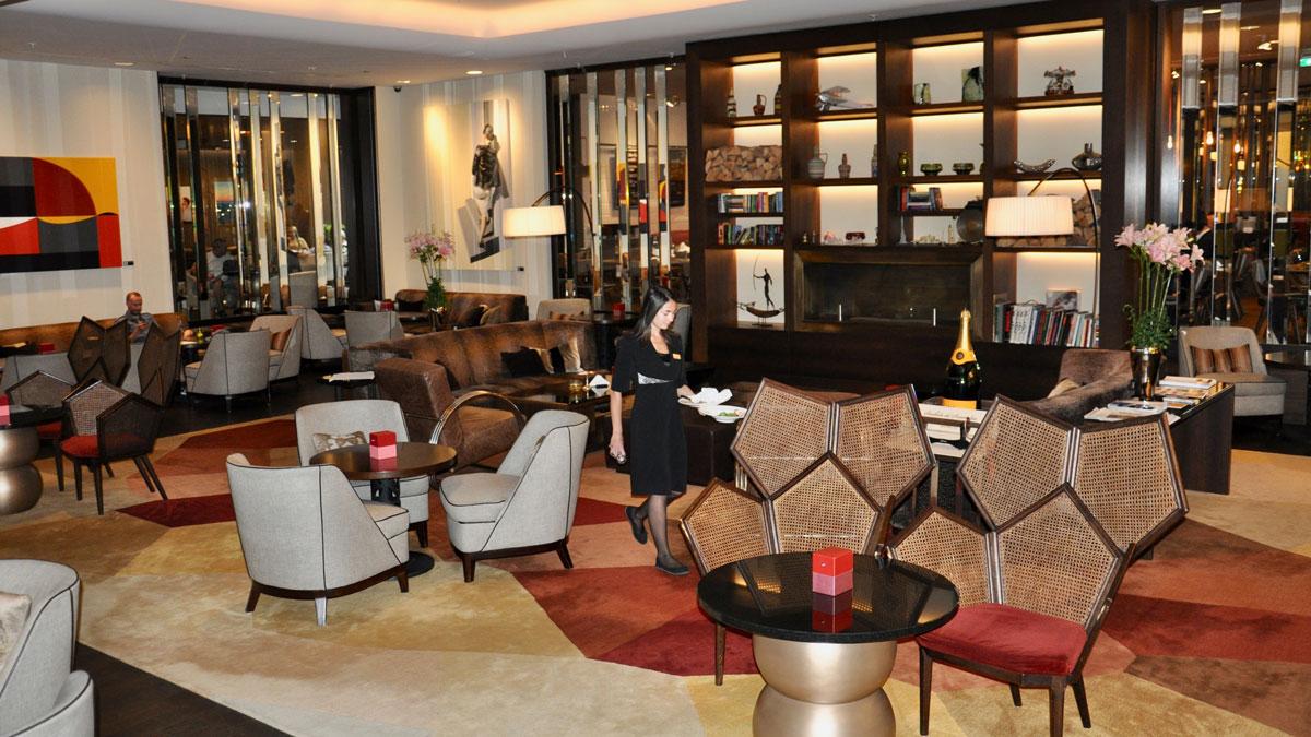Corvinus: Der Living Room. Stilvoller Platz für den Five-o'Clock-Tea. Foto WR