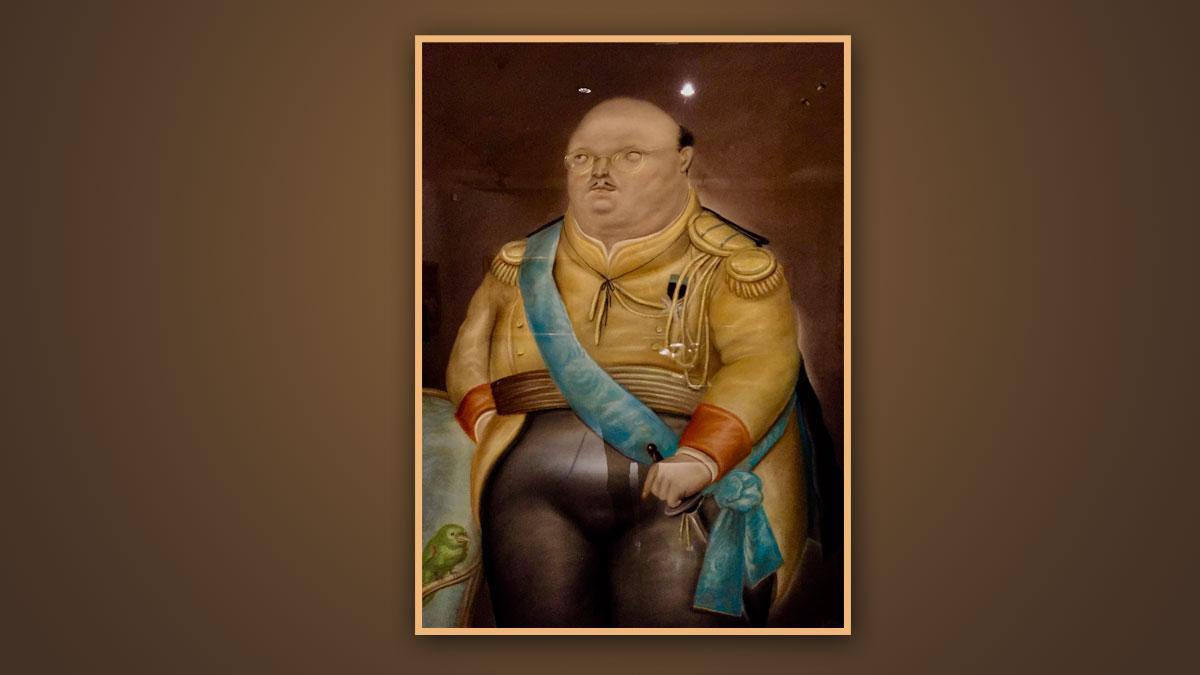 Der Medelliner Künstler Botero liebt üppige Proportionen