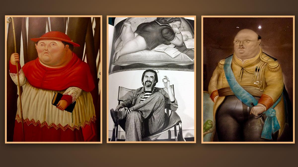 Der Maler und Bildhauer Fernando Botero ist der Star der kolumbianischen Kunstszene