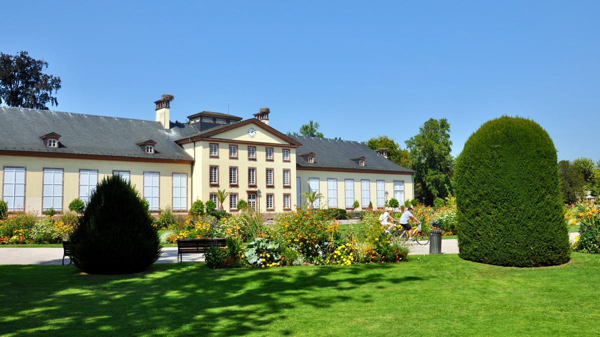 Der Pavillon Joséphine in der Orangerie. Foto WR
