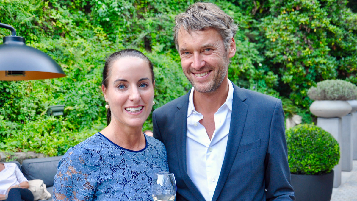 Wolfgang Otto (Otto Gourmet) und Christina Holte. Foto WR