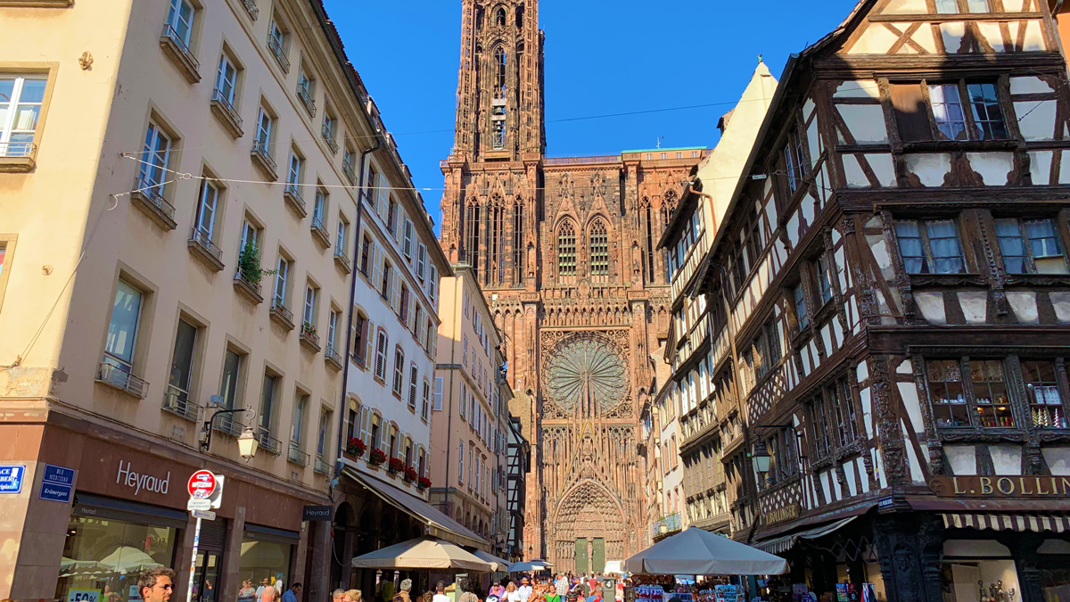 Das Liebfrauenmünster in Straßburg gehört zudem größten Sandsteinbauten der Welt. Foto WR