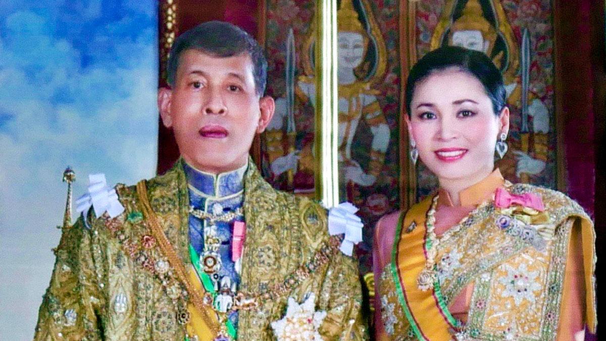 Thailands neuer König Rama X und Königin Saovabha. Foto JW