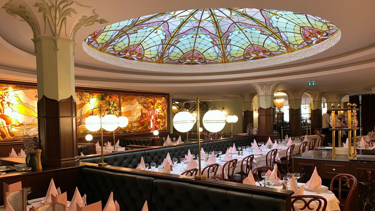 """Brasserie Floderer - ein Ableger des """"Flo"""" in Paris Foto WR"""