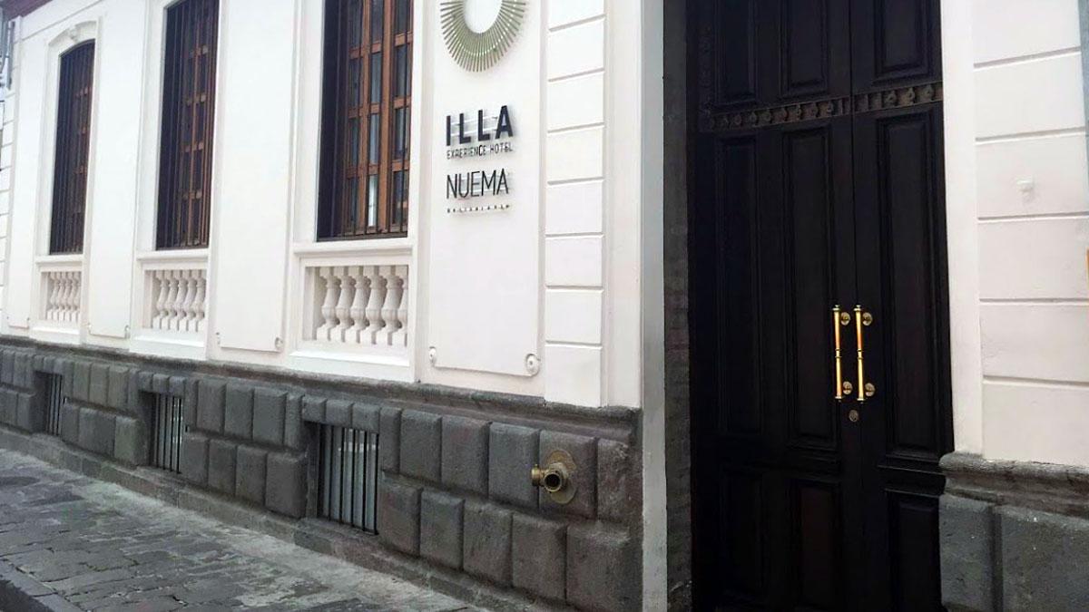 Eingang Nuema Restaurant