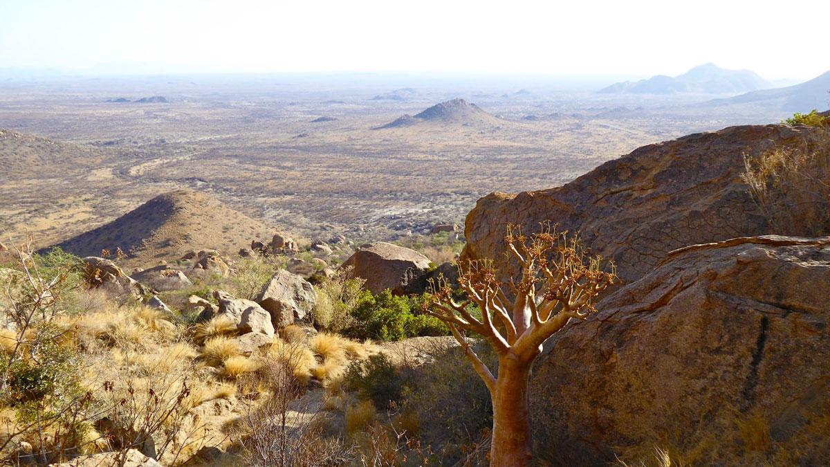 Erongo Gebirge. Foto Inna Hemme