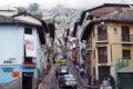 Quitos verwinkelte Innenstadt. Foto JW