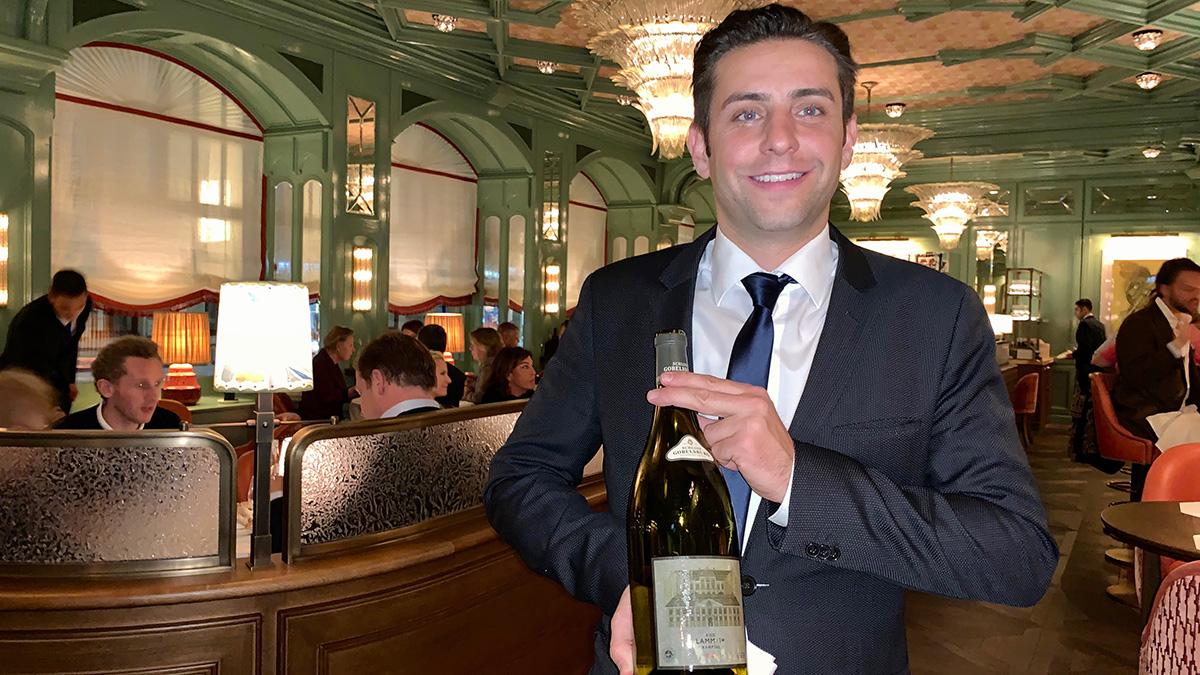 """Restaurant-Chef und Wein-Experte im """"Baur's: Panagiotis Kissas. Foto WR"""