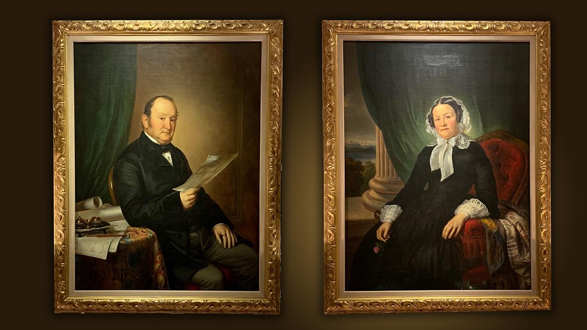 Hotel-Gründer Johannes Baur und seine Frau Anna