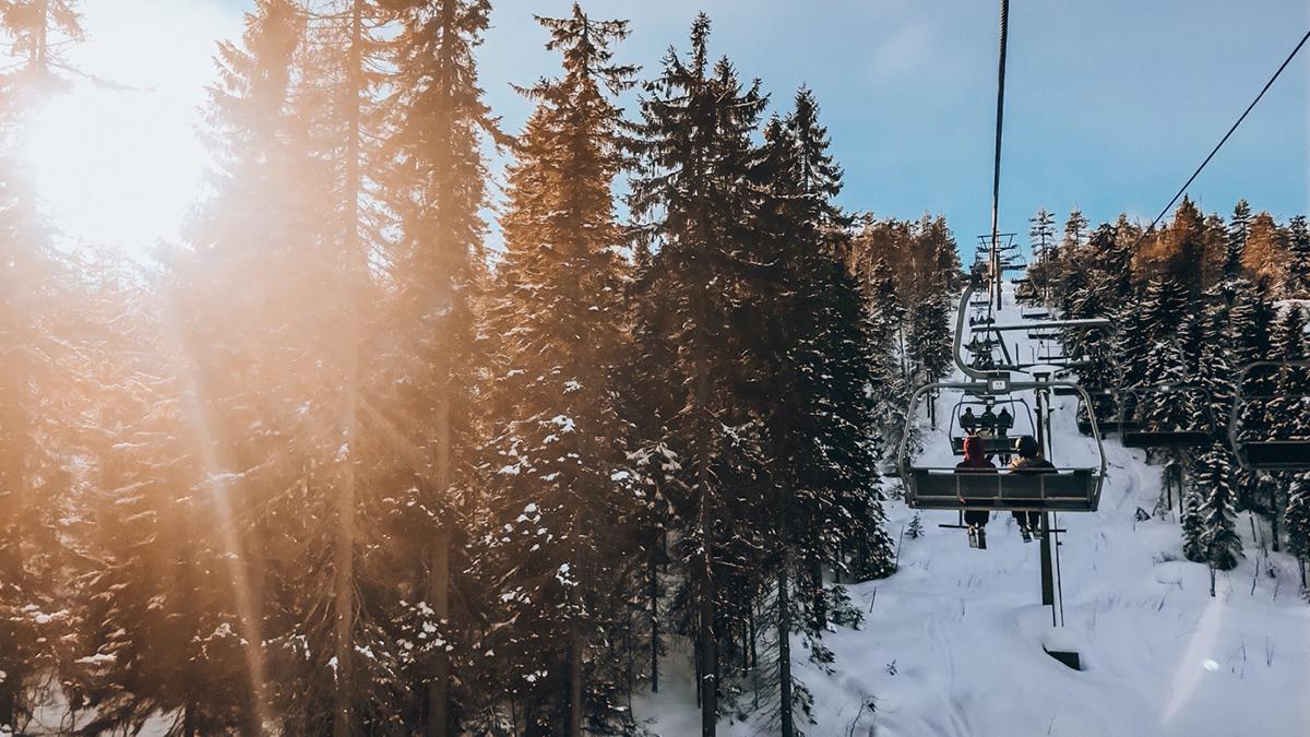 Ein Wintersportparadies. Foto Inna Hemme