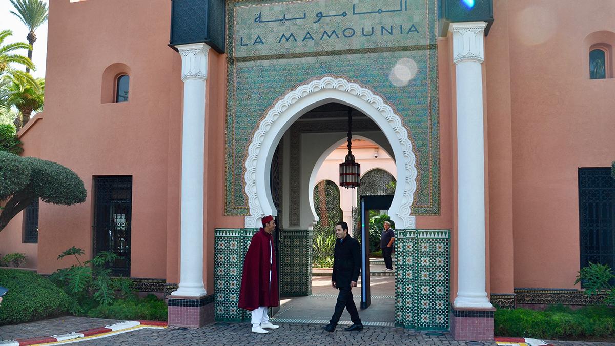 La Mamounia: Eines der schönsten Hotels von Afrika. Foto WR