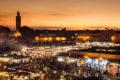 Djemaa el Fna: Mittelpunkt von Marrakesch, der Platz der Schlangenbeschwörer und Gaukler. Foto Monde du Voyage.