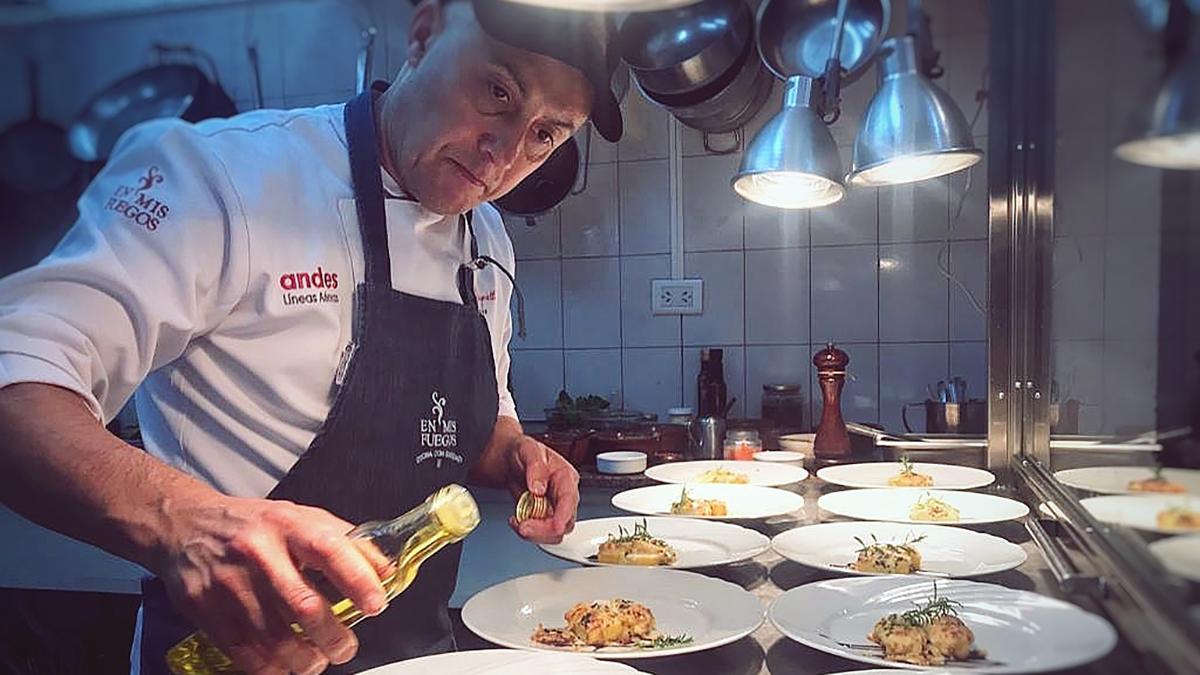 Gourmettreff in Puerto Madryn: EN MIS FUEGOS. Foto: @rapretti