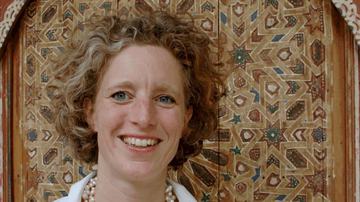 Julia Bartels, charmante Gastgeberin und Hausherrin des Riad el Cadi. Ohne FZ