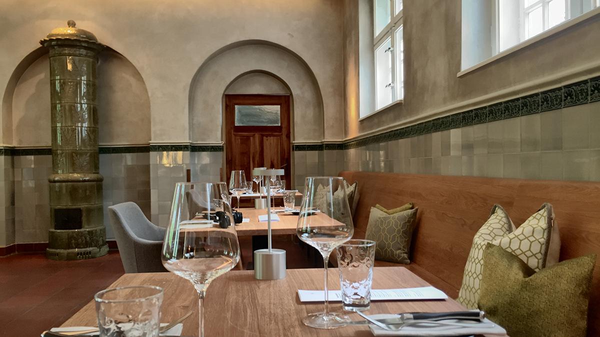 Rutz Zollhaus: Speisesaal im Erdgeschoss. Foto JW