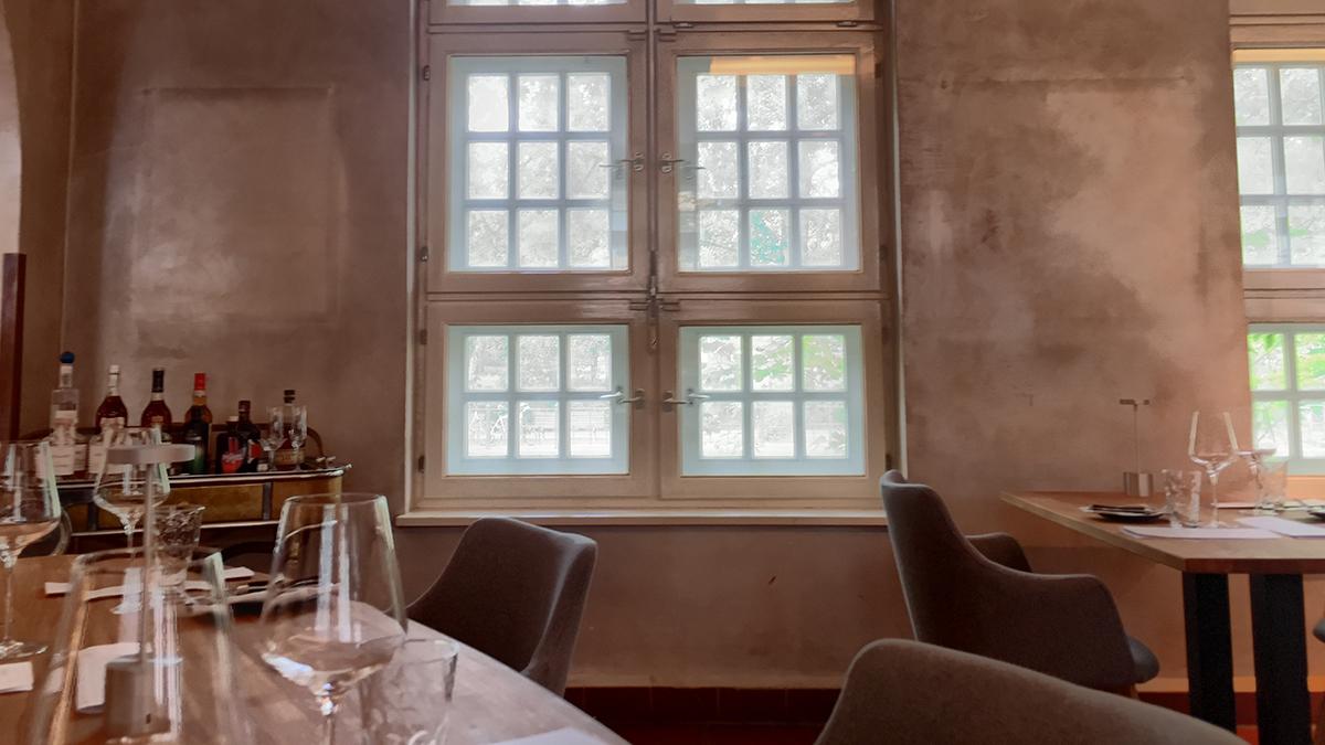 Speisesaal des Rutz Zollhauses. Foto JW
