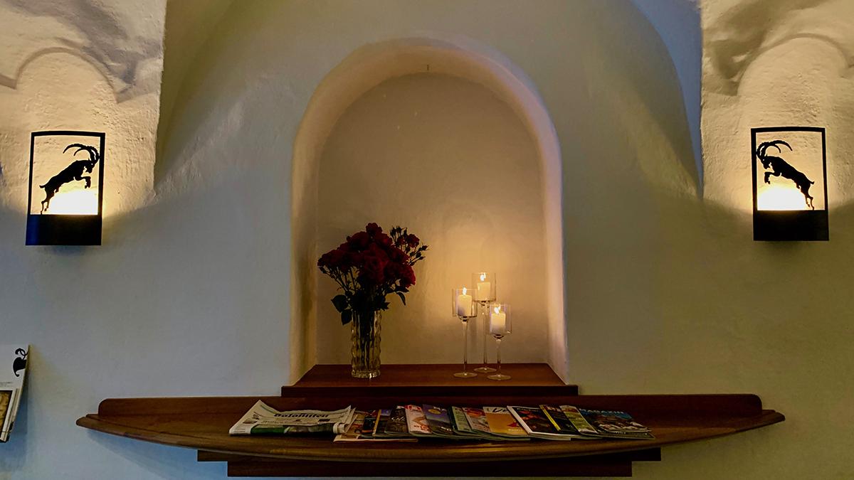 Steinbock, Villanders: Ein Haus mit Flair und Wohlfühlatmosphäre. Foto WR