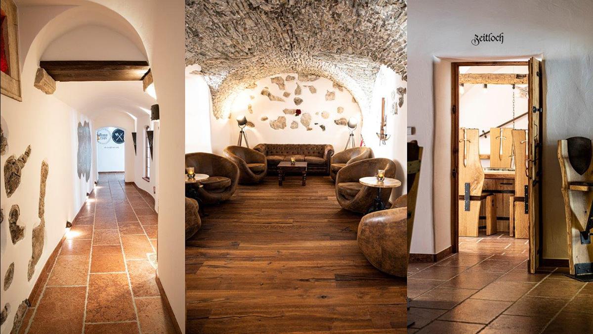 """Das neu eröffnete Restaurant """"Ano1348"""": seine Ursprünge liegen im 14. Jahrhundert. Foto WARP3"""