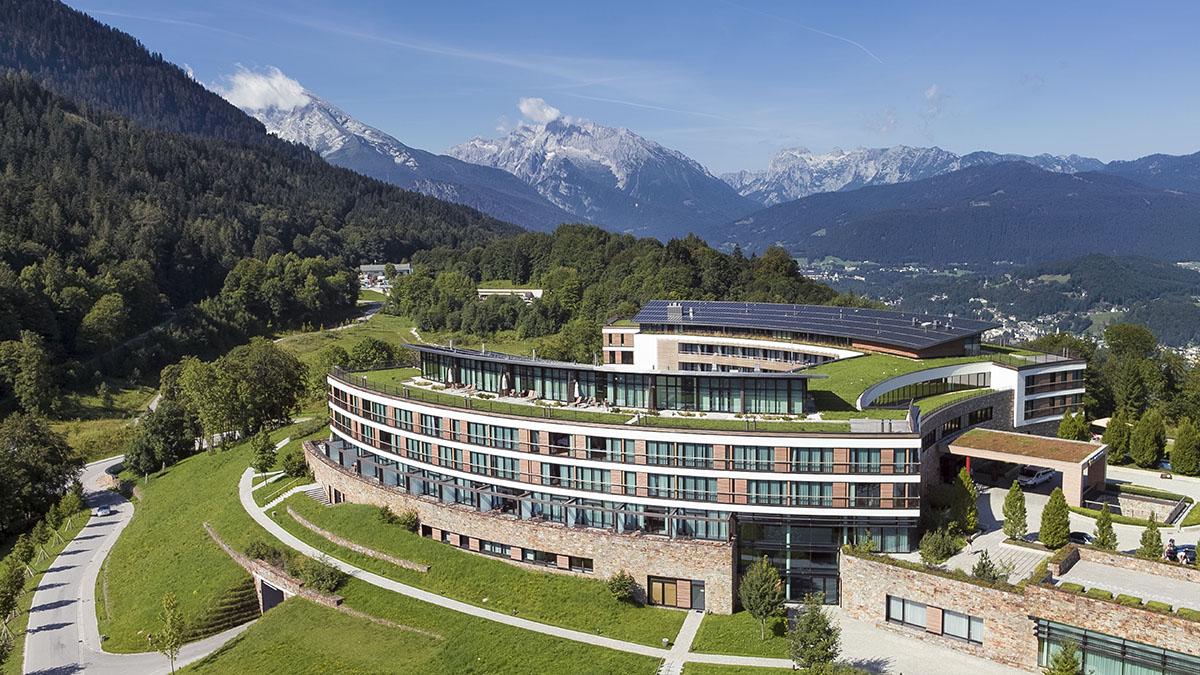 Kempinski Hotel Berchtesgaden - Außenansicht