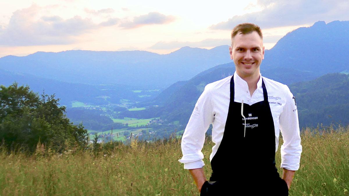 "Sebastian Weigl, Küchenchef des ""Johann Grill"""